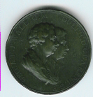 TH118 1902 The George Prince of Wales and The Duke of Clarence bronze medal-0