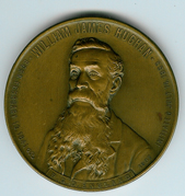TH151a 1907 The W. J. Hughan presentation medal-0