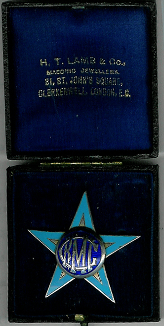 TH222 The Royal Masonic School for Girls Prefect's Badge-0