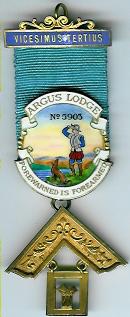 TH455-5903 PM Jewel Argus Lodge No. 5903-0