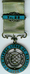 TH566-026 The Castle Lodge of Harony No. 26 Regulation centenary-0