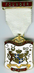 TH662-2017 Founders Jewel Duke of Connaught Chapter No. 2052-81
