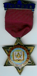 TH662-3078 Founders Jewel Wiclif Chapter No. 3078-0