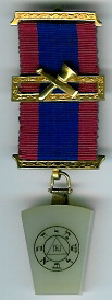TH713a The Mark Members jewel, gilt with central bar.-0