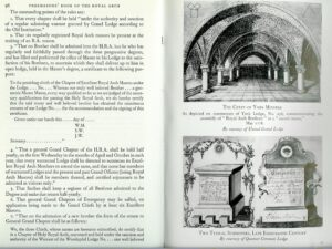 FREEMASONS BOOK OF THE ROYAL ARCH by BERNARD E. JONES-0