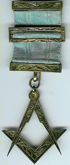 Irish Victorian Past Master's jewel-0