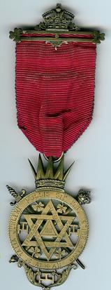 TH637 Ireland 1893 1st Principal's jewel-0