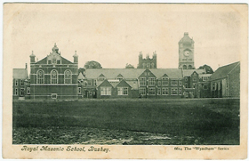 The Royal Masonic School for Boys postcard-0