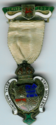 TH271 Royal Masonic Institution for Girls 1922 Stewards jewel-0