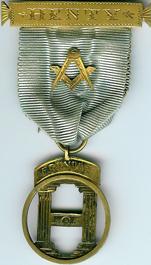 Australia Henty Lodge No. 279 Founders Jewel -0