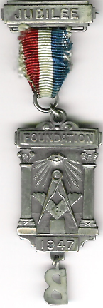 The Honourable Fraternity of Antient Freemasons Foundation with letter B-0