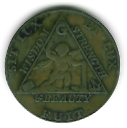 TH180 (21) The 1790 Sketchley Masonic Token-0