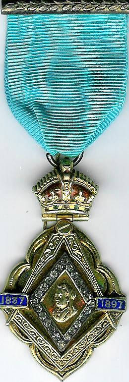 TH218Aa The 1897 Queen Victoria Diamond Jubilee jewel silver-gilt-0