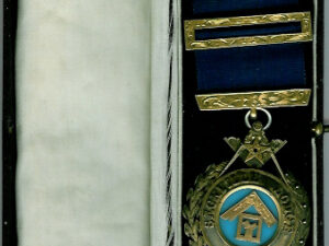 Victorian Past Master's jewel from Sackville Lodge No. 1619-0