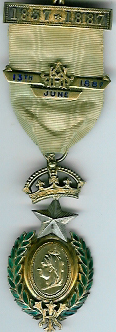 TH212Aa Queen Victoria 1887 Golden Jubilee jewel-0
