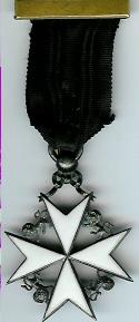 Early Edwardian Knights Cross breast jewel-0