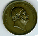 TH126 1843 The Duke of Sussex Grand Master medal-0
