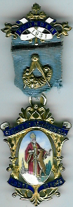 TH451-5243 Founders Jewel St. Giles of Camberwell Lodge No. 5243.-0