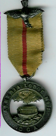 Scarce Armenia Lodge No. 1 G.C.A. jewel-0