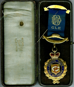 Buffalo Waveney Lodge No. 1906 March 23rd 1921-0