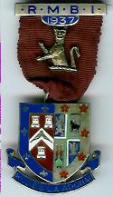 TH281 Royal Masonic Benevolent Institution 1937 Stewards jewel. -0