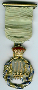 TH276 Royal Masonic Institution for Boys 1898 Stewards jewel-0