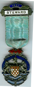 TH276 Royal Masonic Institution for Boys 1921 Stewards jewel.-0
