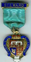 TH276 Royal Masonic Institution for Boys 1939 Stewards jewel.-0