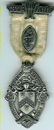 TH271 Royal Masonic Institution for Girls 1935 Stewards silver jewel. -0