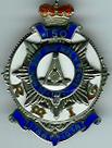 TH271 Royal Masonic Institution for Girls 1938 150th Anniversary Stewards jewel. -0