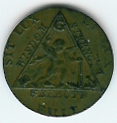 TH180 (12) The 1790 Sketchley Masonic Token. -0