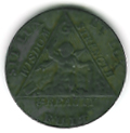 TH180 (09) The 1790 Sketchley Masonic Token. -0