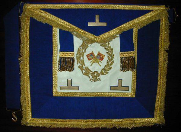 Past Grand Standard Bearers Craft Dress Lambskin Apron By Toye & Co-0