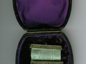TH455-0591 9ct Gold 1885 Buckingham Lodge No. 591 Past Masters jewel -0