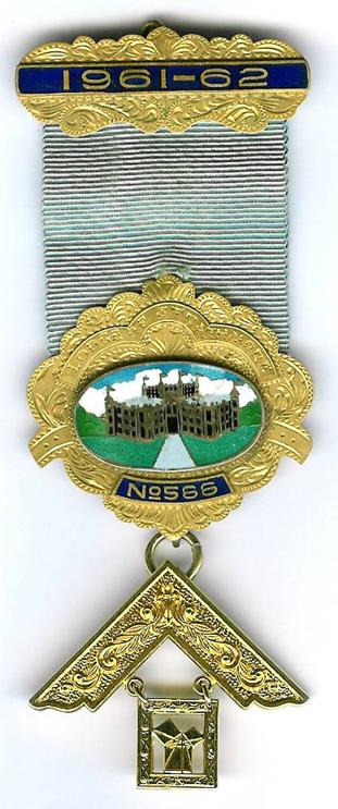 Australia Strathmore Lodge No. 566 Past Masters jewel.-0