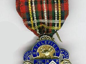 TH451-1258SC Lodge Battlefield No. 1258 silver Founders Jewel.-0
