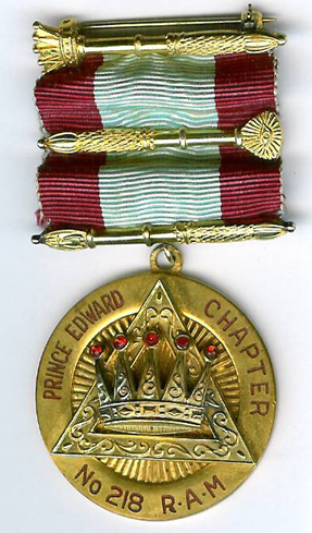 Canada, Prince Edward Chapter of RAM No. 218 PZ jewel.-0