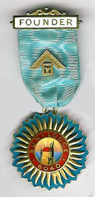 TH451-6040 Founders Jewel for Sun Lodge No. 6040-0