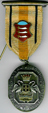 TH281 Royal Masonic Benevolent Institution 1901 Stewards jewel.-0