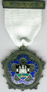 TH271 Royal Masonic Institution for Girls 1906 Stewards Jewel-0
