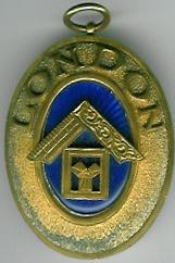 TH584a The London Grand Rank collar jewel.-0