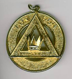 TH654 London Grand Chapter Rank Collar Jewel.-0