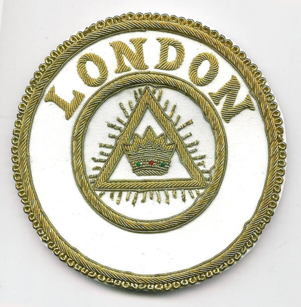 London Grand Chapter Rank Apron Badge-0