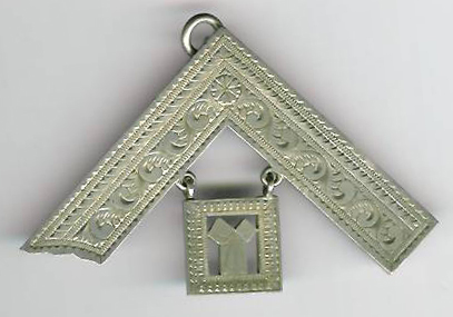 TH43a Beautuful Victorian Past Masters collar jewel from Gresham Lodge No. 869.-0