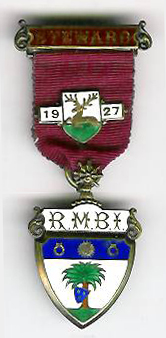 TH281 Royal Masonic Benevolent Institution 1927 Stewards jewel-0