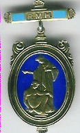 TH348c 1932 The Royal Masonic Hospital silver Governor's jewel.-0