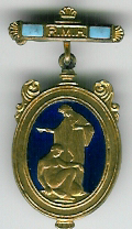 TH348d The Royal Masonic Hospital Governor's jewel.-0