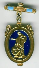 TH348da The Royal Masonic Hospital Governor's jewel.-0