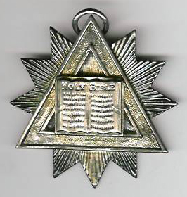 TH43a A mid-Victorian Chaplain's Jewel Circa 1850.-0