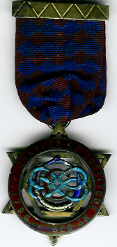 TH625-0279 Chapter of Fortitude No. 0279 original Regulation Centenary Jewel. -0